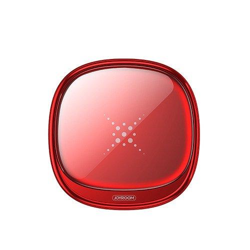 Ładowarka indukcyjna bezprzewodowa JOYROOM Mini Square Wireless Charger (JR A20) czerwona