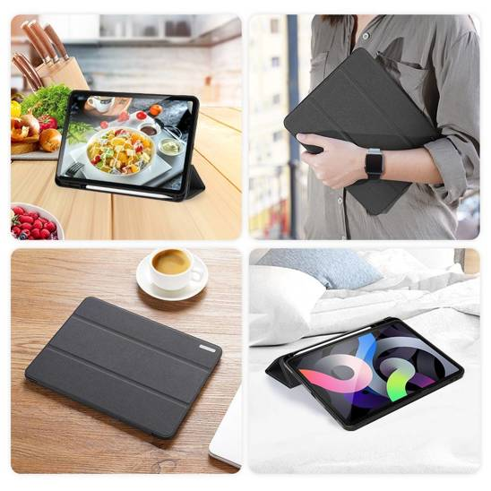Etui APPLE IPAD AIR 4 10.9 Dux Ducis Domo Series z klapką czarne