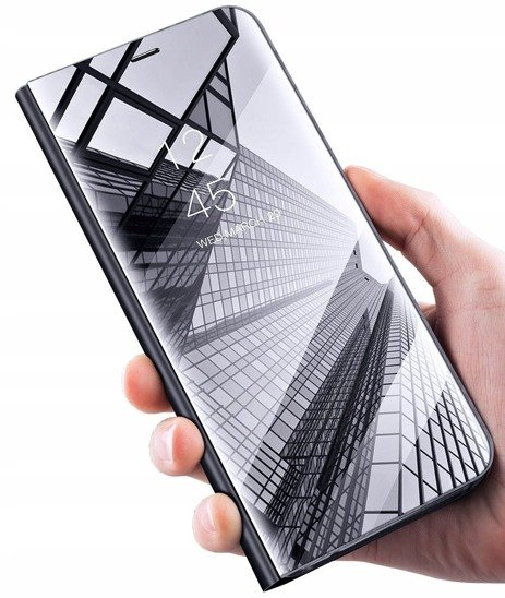 Etui HUAWEI P SMART PRO 2019 Clear View Cover z klapką czarne