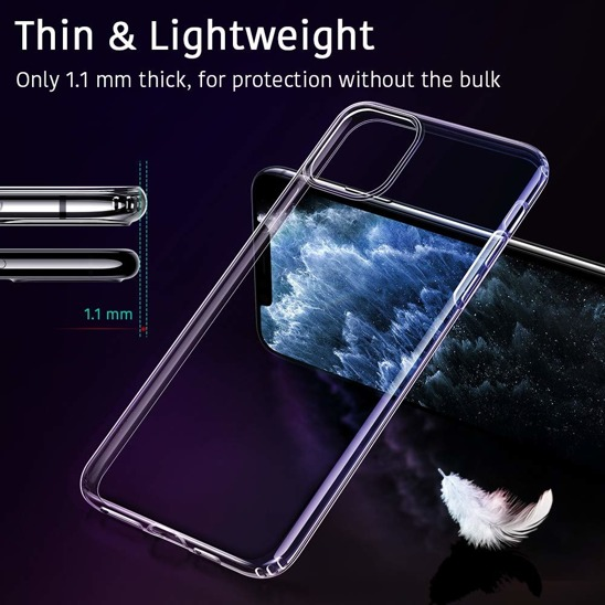 Etui IPHONE 11 PRO MAX Jelly case Mercury transparentne