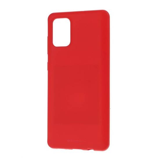 Etui SAMSUNG GALAXY A21S Soft Jelly Case czerwone