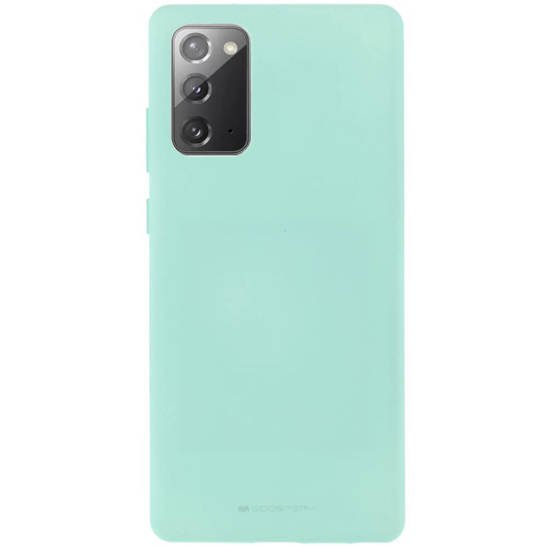 Etui SAMSUNG GALAXY NOTE 20 Soft Jelly Case miętowe