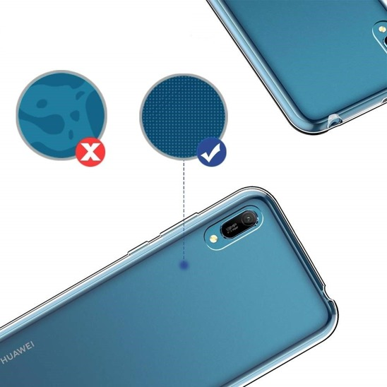 Etui Slim case HUAWEI Y5 2019 elastyczne ultracienkie transparentne