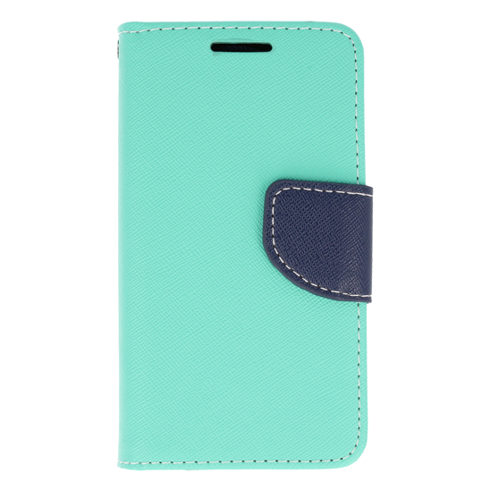 Etui portfel Fancy LG X SCREEN miętowe